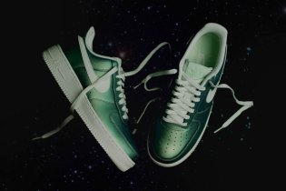 "The Nike Air Force 1 Gets a Shiny ""Fresh Mint"" Remix"