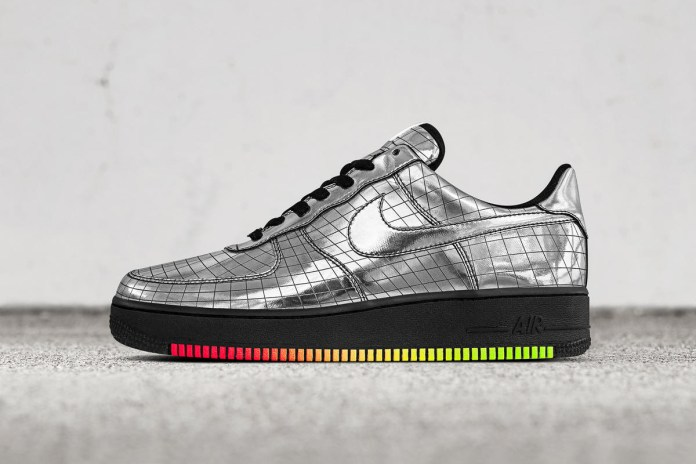 "Nike Creates Striking Air Force 1 ""Jet"" PE Specifically for Elton John"