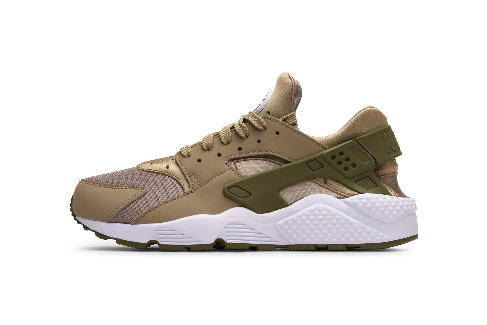 Nike Air Huarache Phantom Gum Yellow Light Bone Khaki Medium Olive - 3769458