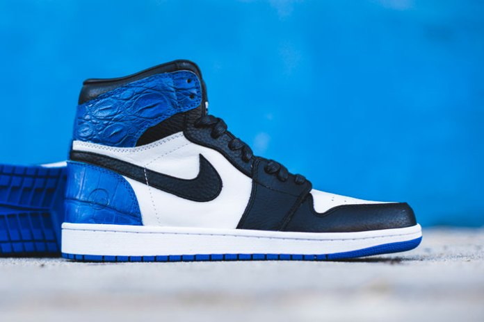 The Shoe Surgeon Remixes the fragment design x Nike Air Jordan 1 With Ultra Luxe Materials