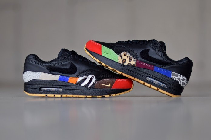 "Take a Closer Look at the Intricacies of the Nike Air Max 1 ""Master"""