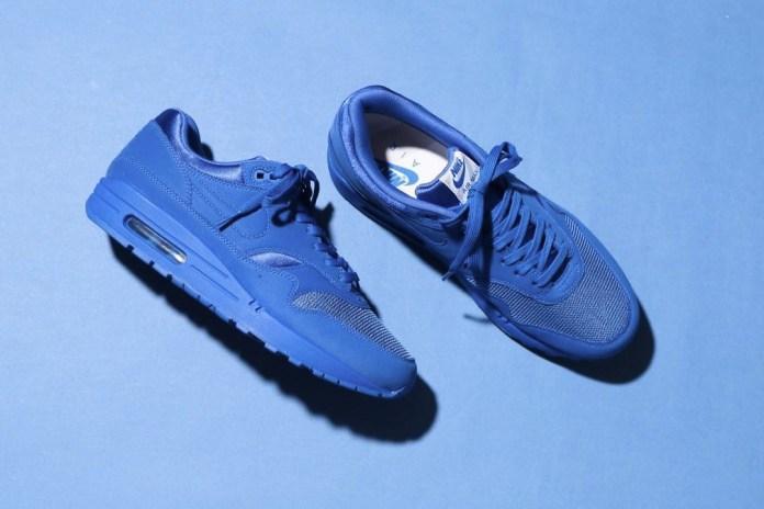 "Nike Set to Release an atmos Exclusive ""Triple Red"" & ""Triple Blue"" Air Max 1 Premium Tonal Pack"