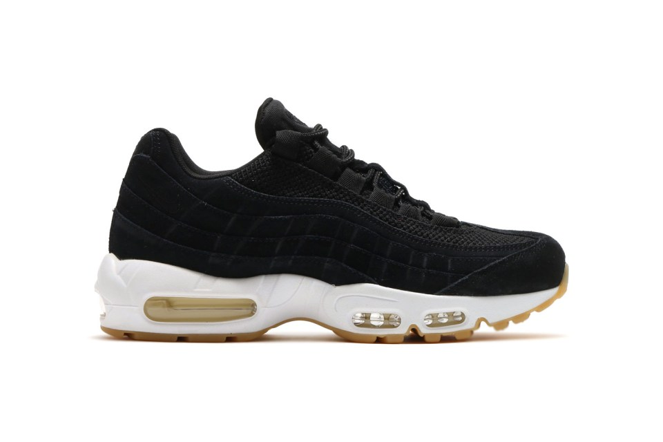 nike air max 95 prm black muslin white hypebeast. Black Bedroom Furniture Sets. Home Design Ideas