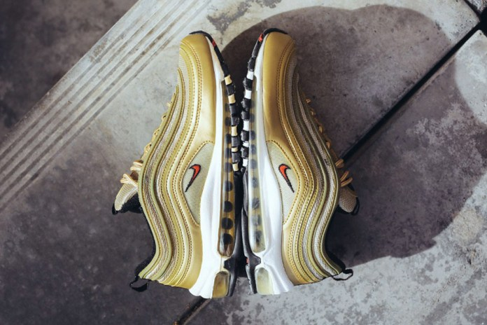 "The Air Max 97 ""Metallic Gold"" Is Making a Return in Europe"