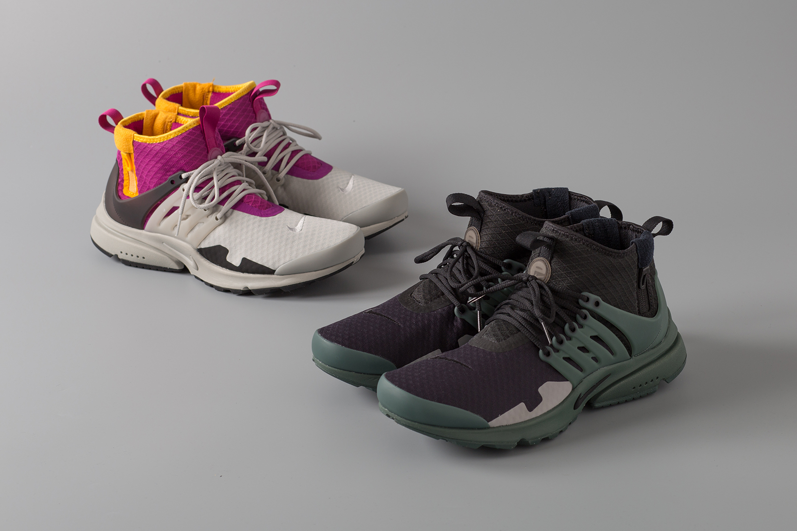 Nike Air Presto Mid SP ACRONYM Purple Grey Black Green - 3758440