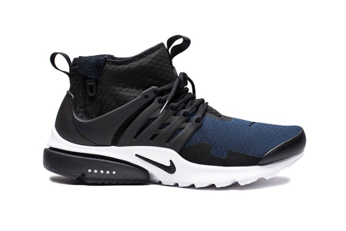 """The Nike Air Presto Mid SP """"OBSIDIAN"""" Might Be the Best Colorway Yet"""