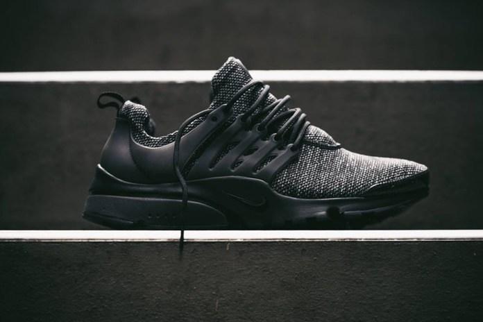 Nike's Air Presto Ultra Breathe Gets a Marled Black Upper