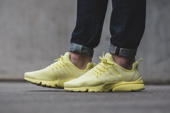 Nike Covers the Air Presto in Lemony Yellow