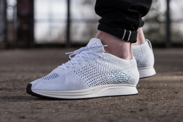 Nike Flyknit Racer White