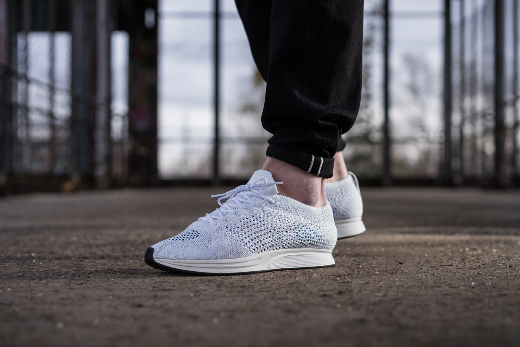 Nike Flyknit Racer On Feet