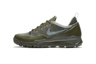 """Nike's Low-Top Lupinek Flyknit Is Back In """"Cargo Khaki"""""""