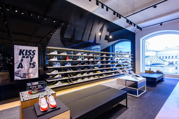 A Look Inside Nike's New Moscow Flagship