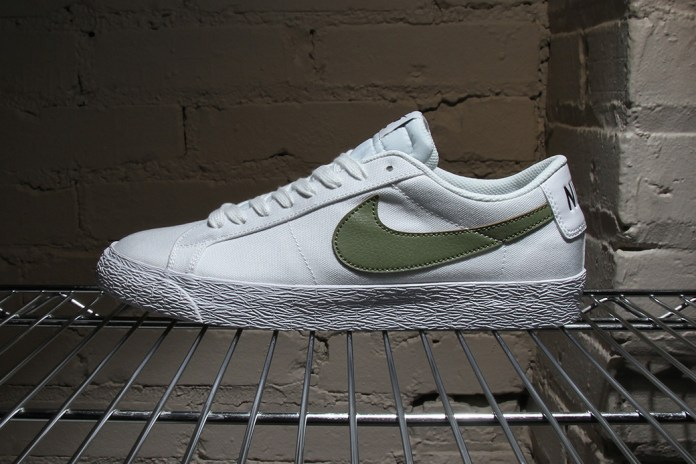 Nike SB Gives the Zoom Blazer Low a Timeless Look in Canvas