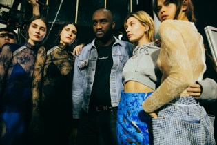 Go Backstage at OFF-WHITE's 2017 Fall/Winter Show With Virgil Abloh and Bella Hadid