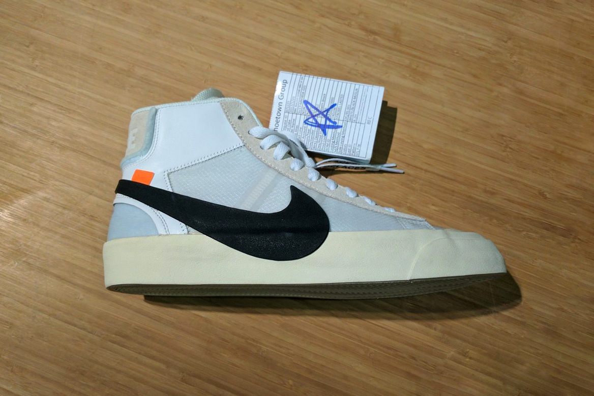 OFF-WHITE Nike Blazer Mid Sneakers Shoes Virgil Abloh