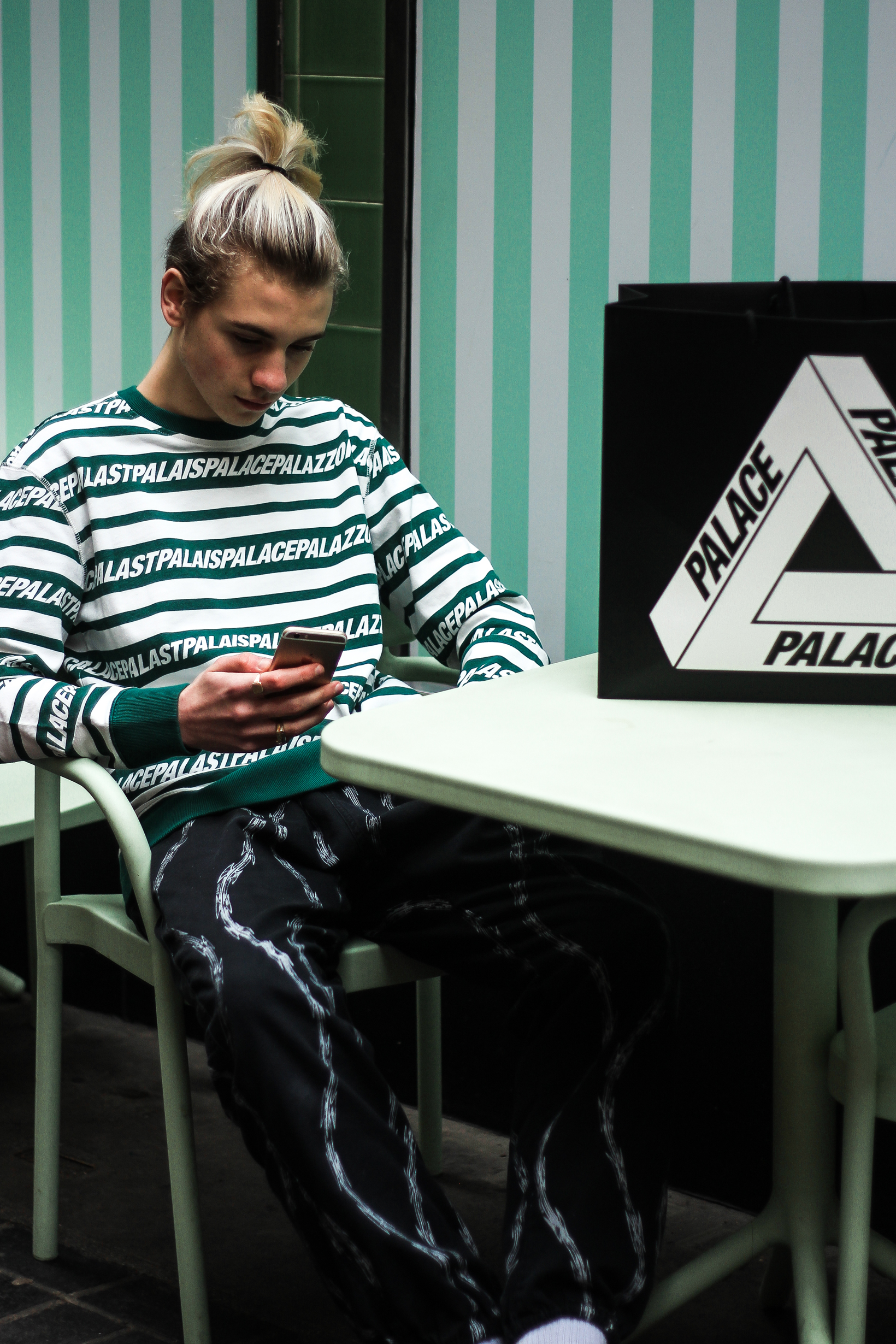 Palace Spring Summer 2017 Delivery Streetstyle Photos Calabasas Supreme The North Face - 3758527