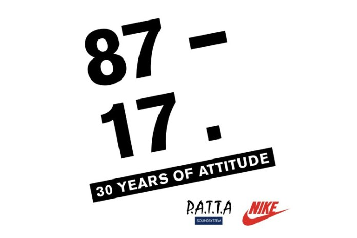 "Patta Celebrates Nike Air Max History With ""30 Years of Attitude"" Mix"