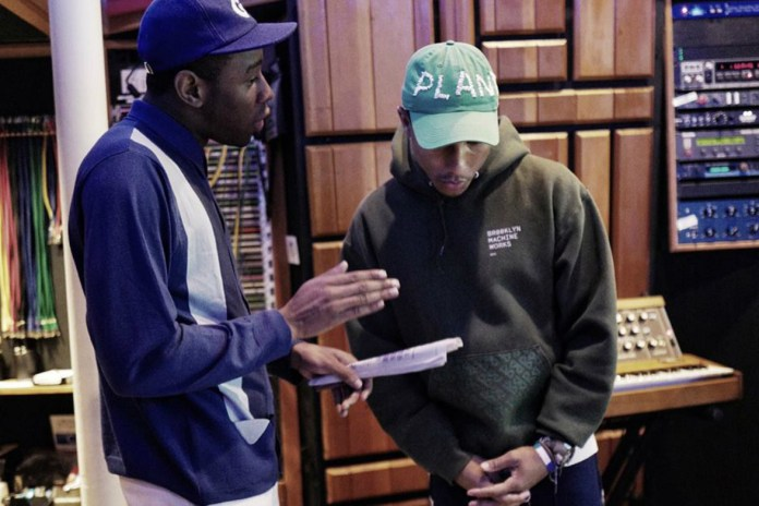 Pharrell and Tyler, The Creator Are Working on New Music Together