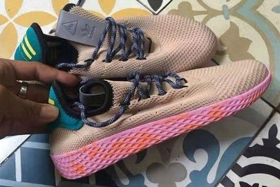 A First Look at Pharrell's Latest Colorway for the Human Race Sneaker