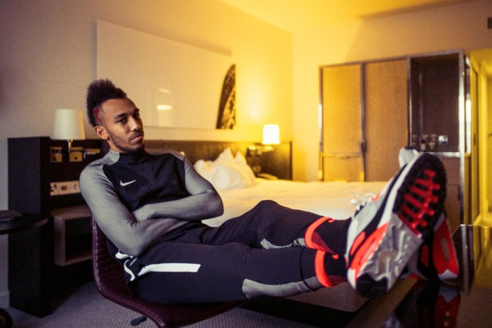 Pierre-Emerick Aubameyang Talks Usain Bolt, Tough Defenders and DMX