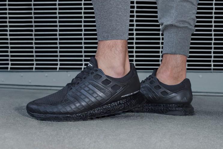 """An On-Feet Look at the Porsche Design x adidas UltraBOOST """"Triple Black"""""""
