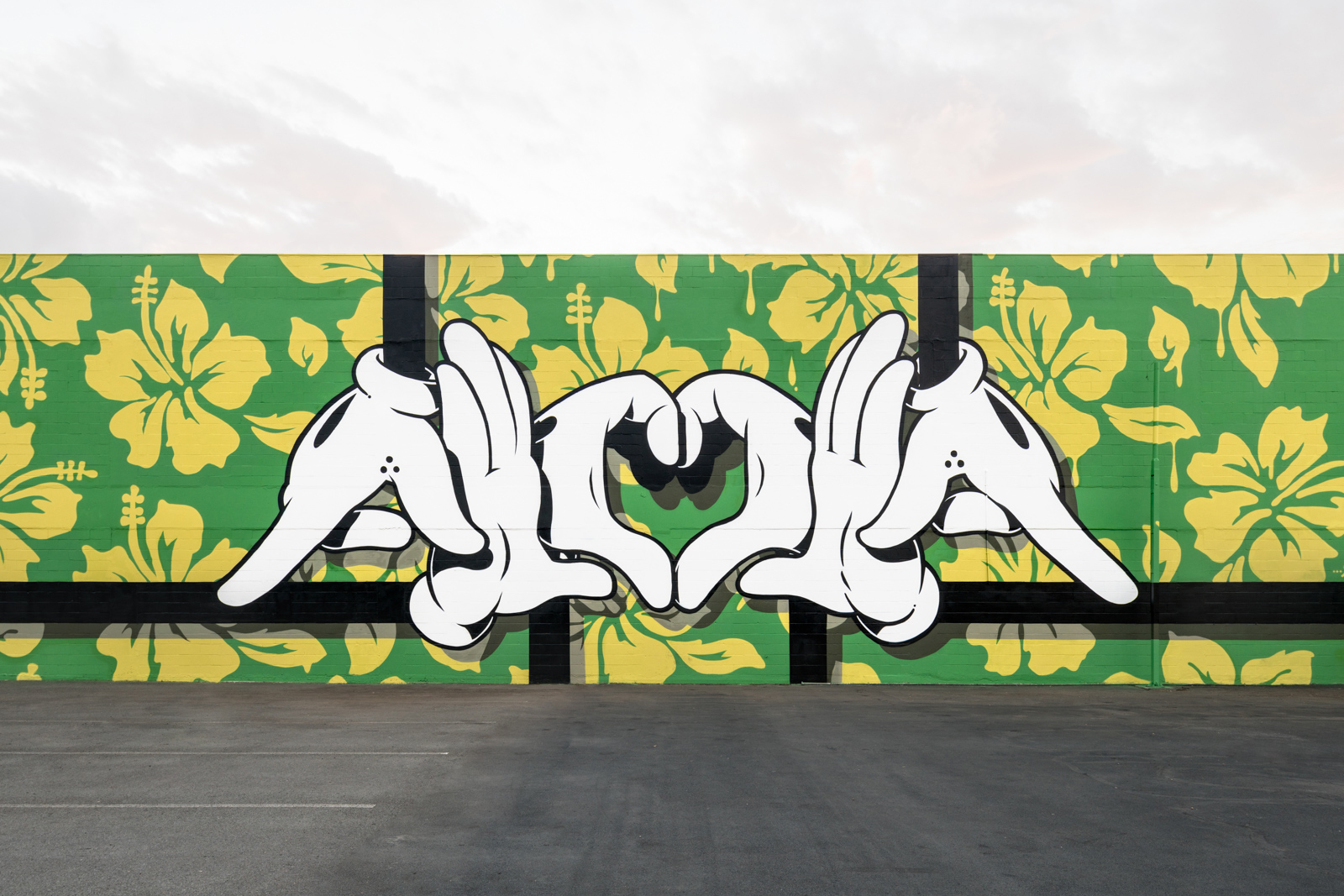 Pow Wow Street Art Hawaii OG Slick