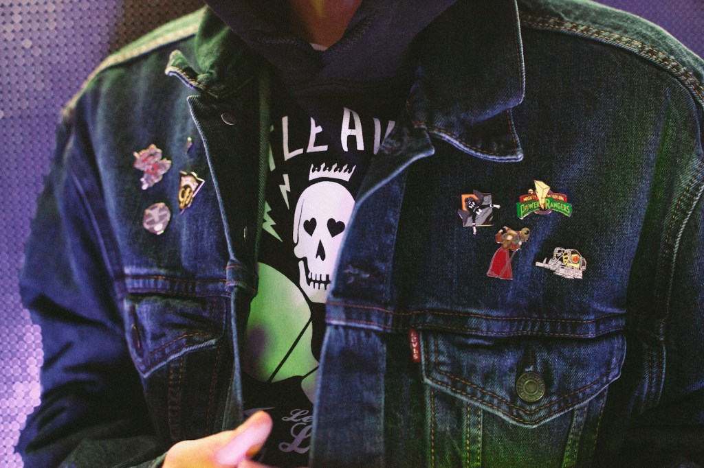 Power Rangers PINTRILL 2017 Capsule Collection Pins Mighty Morphin Levi's - 3762516
