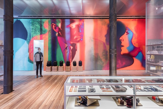 Prada Unveils Colorful New Art Installation in Its New York Store