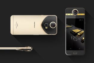 Protruly Releases a 360-Degree Camera Phone With Diamond and Gold Accents