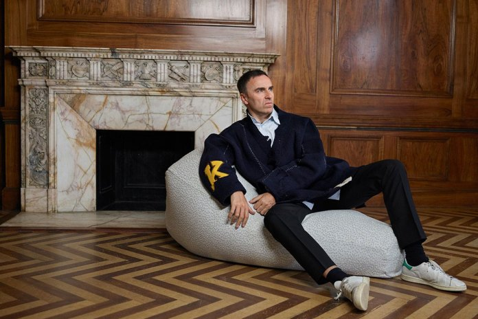 """Raf Simons Says Calvin Klein Stands for """"Reality"""""""