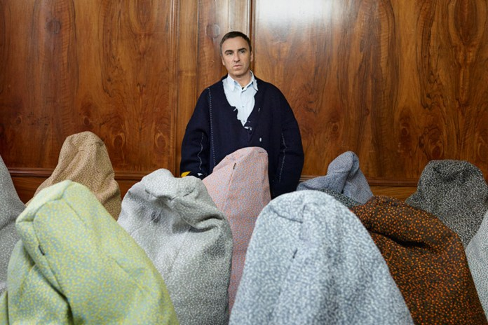 Raf Simons Talks About Rick Owens and  Fashion Not Being Built to Last in Latest Interview
