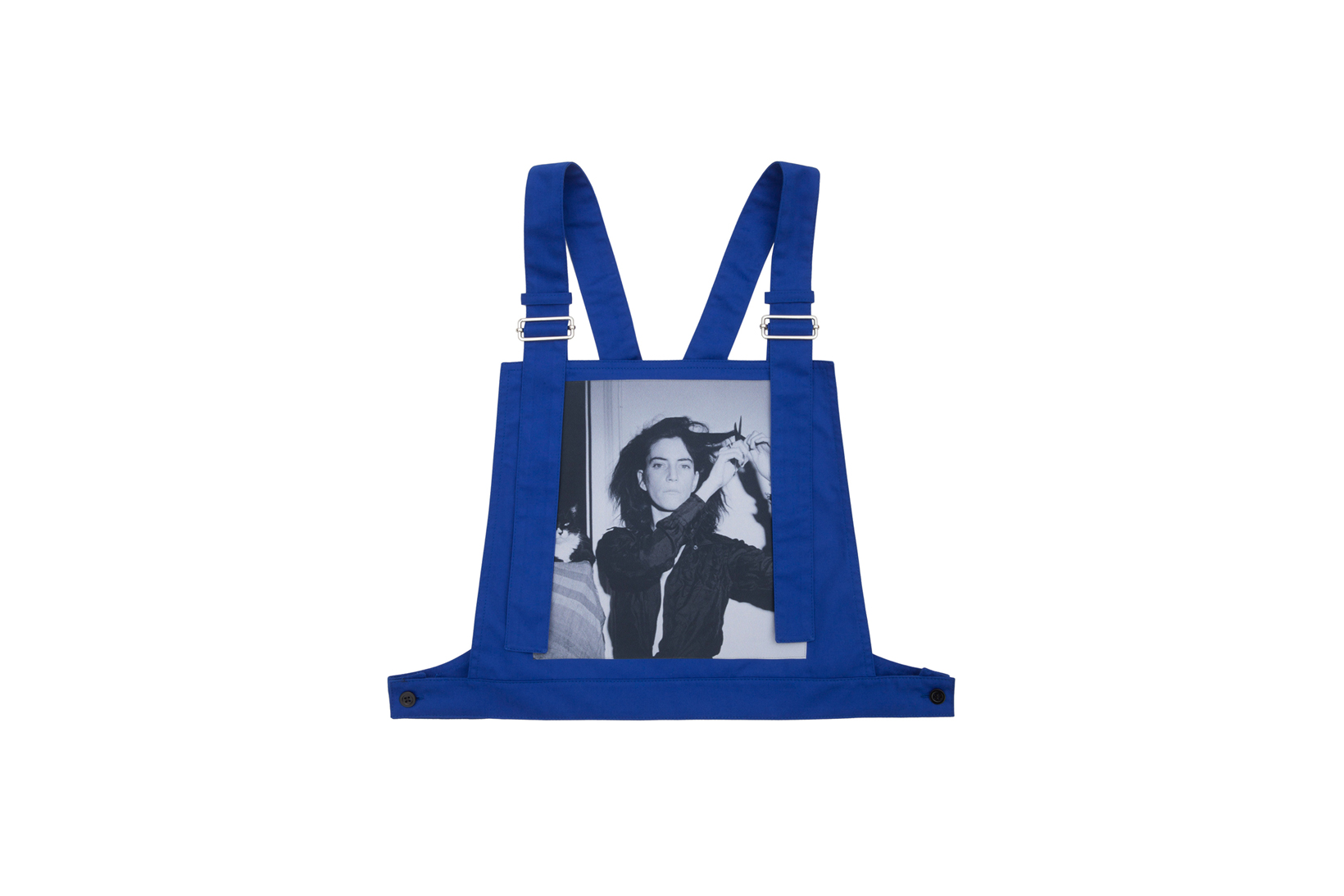 Raf Simons Robert Mapplethorpe Dungaree Vest Blue