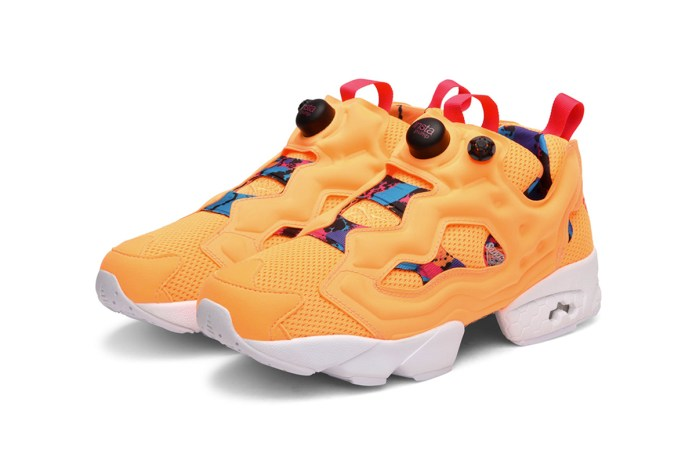 "Reebok Releases An ""Orange Sherbet""-Inspired Instapump Fury"