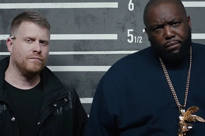 "Run The Jewels Trip Out in a Police Lineup for ""Legend Has It"" Video"