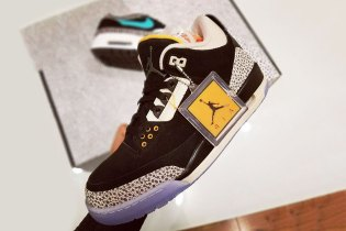 """A """"Safari""""-Inspired Air Jordan 3 Could Potentially Be Part of an atmos Collaboration Pack"""