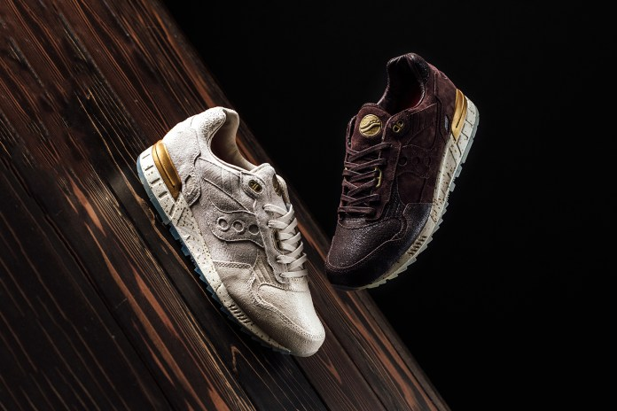 """Saucony Takes the Wraps off the Shadow 5000 """"Crackled Leather"""" Collection"""