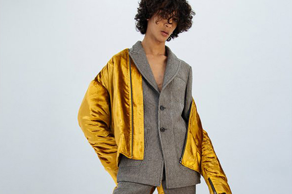 Sean Suen Offers Bold Takes on Classic Silhouettes for 2017 Fall/Winter