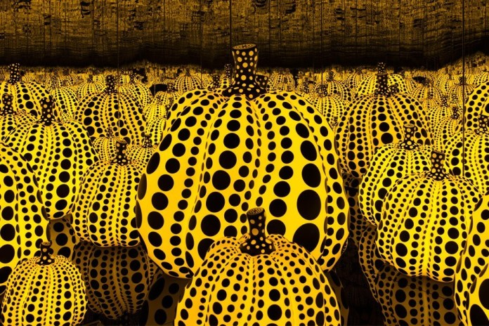 Museumgoer Taking Selfie Smashes Yayoi Kusama's Pumpkin Sculpture