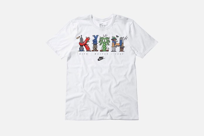 Steve Harrington Links up With KITH and Nike on T-Shirt Collection