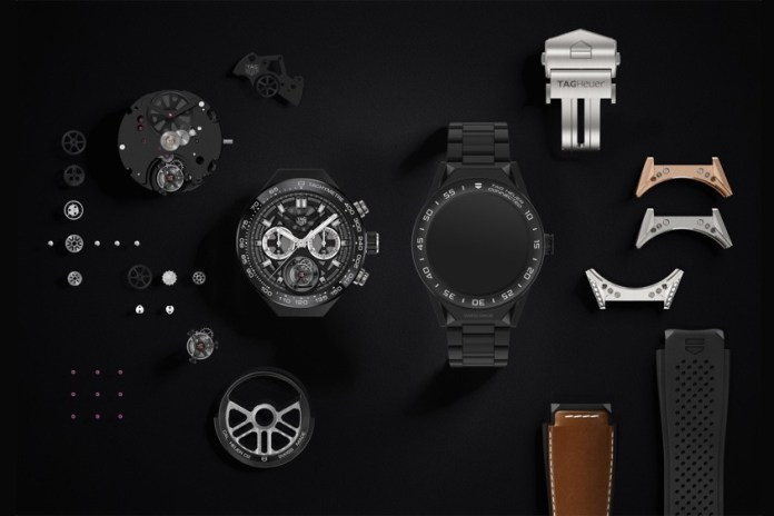 TAG Heuer Unveils Its Android Wear 2.0-Powered Modular Smartwatch