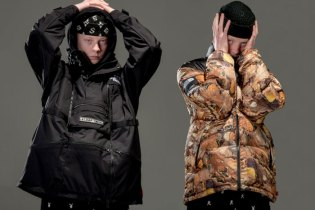 Gully Guy Leo Flaunts Supreme x The North Face Jackets Throughout the Years in New Editorial