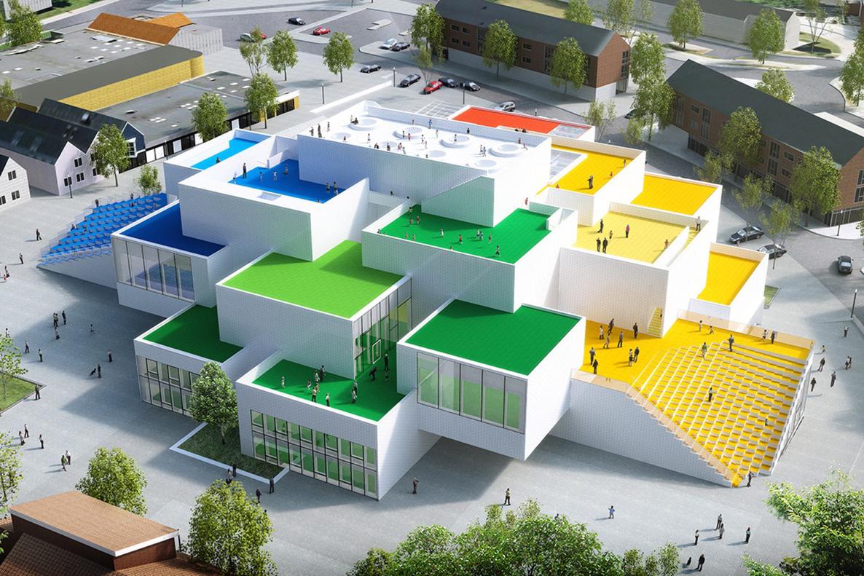 LEGO Experience Center Construction Denmark - 3749941