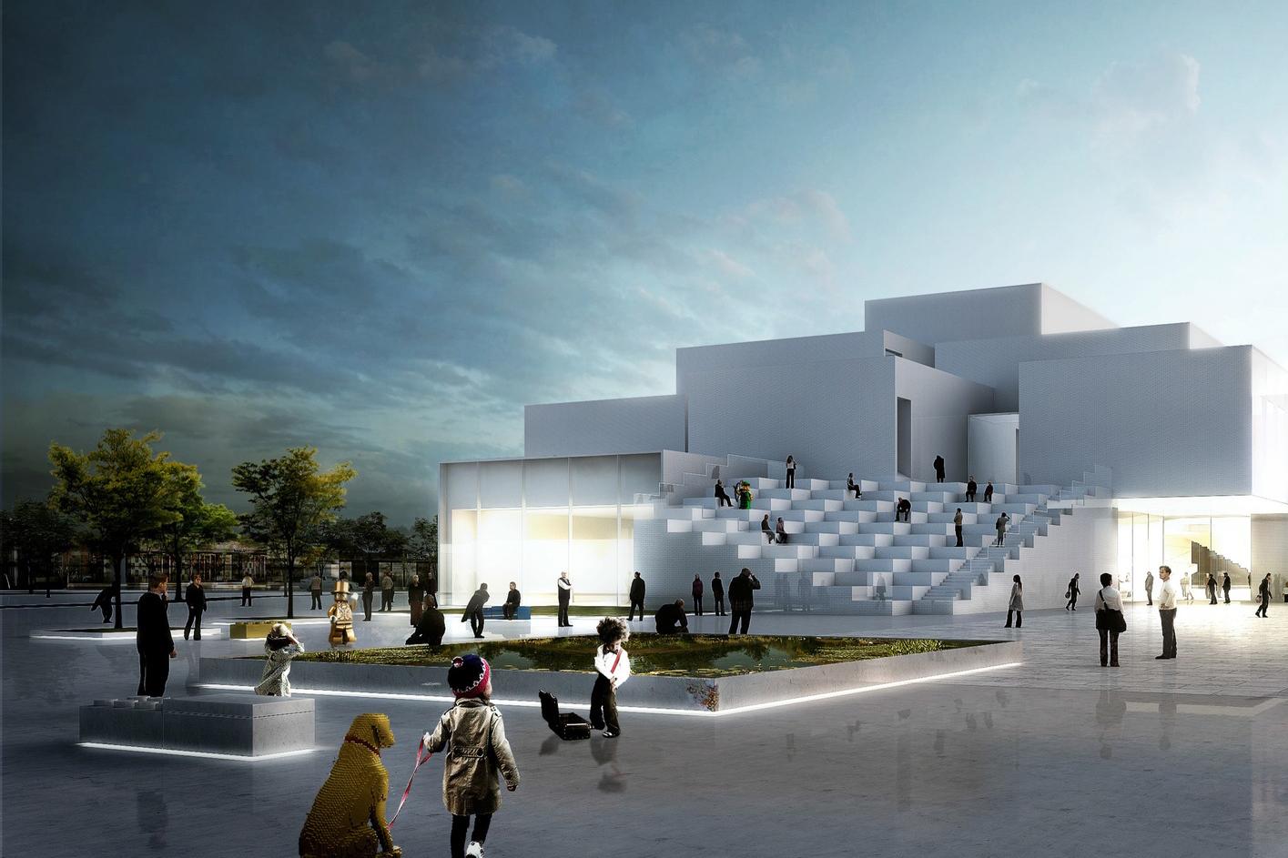 LEGO Experience Center Construction Denmark - 3749943