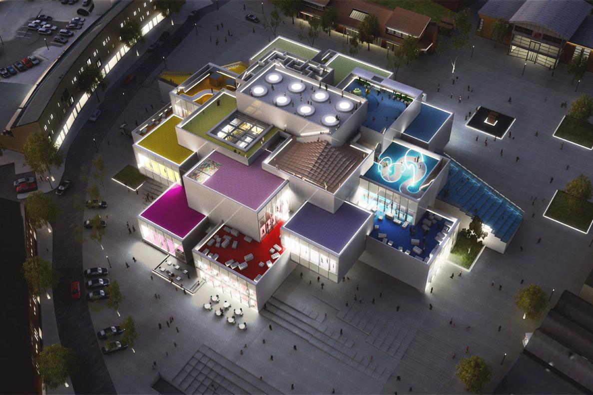 LEGO Experience Center Construction Denmark - 3749947