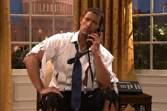 """Dwayne """"The Rock"""" Johnson Will Host the SNL Season Finale"""