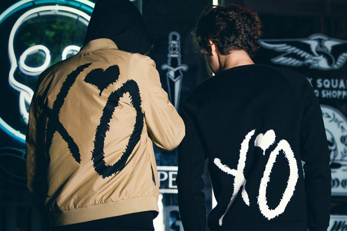 "The Weeknd x H&M ""Spring Icons"" Editorial Reveals Sweatshirts, Bombers and Coats"