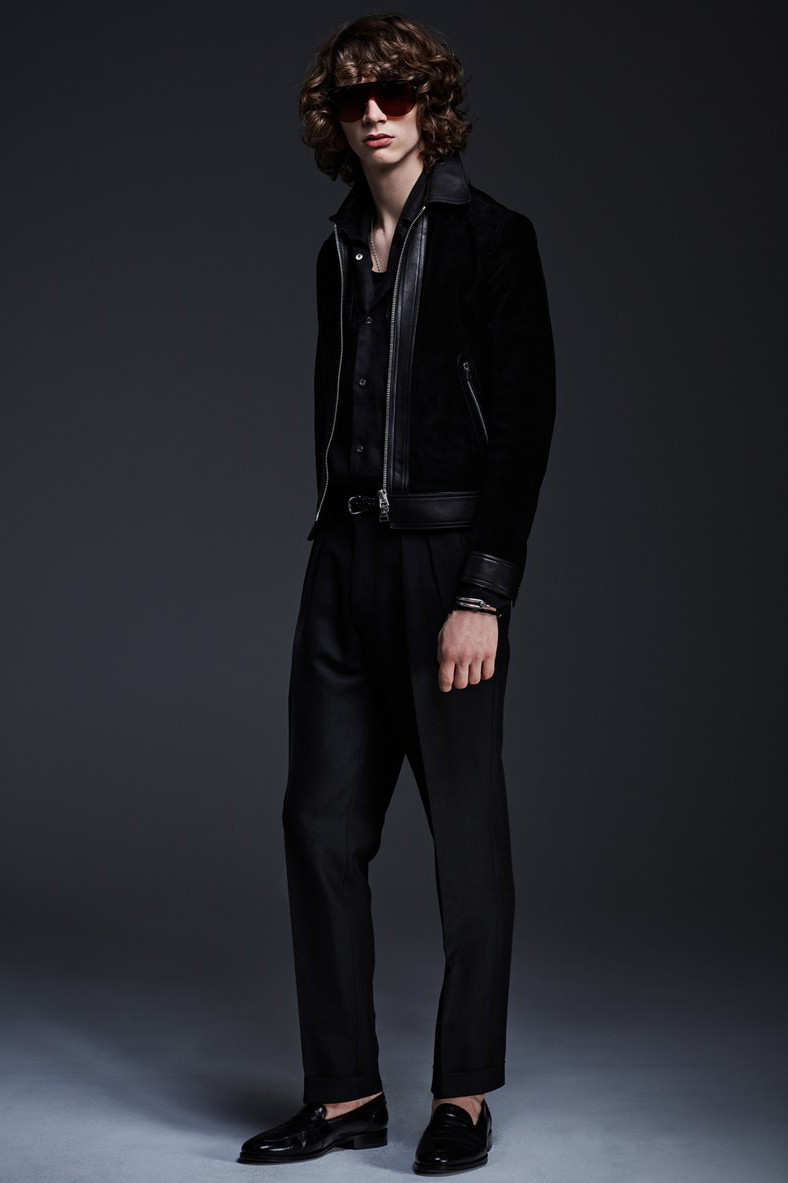 Tom Ford 2017 Spring/Summer Collection lookbook suits slim fit pants jackets