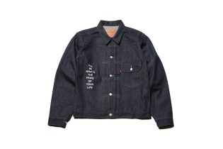 The Latest UNDERCOVER x Levi's Collaboration Offers Personalized Denim Jackets