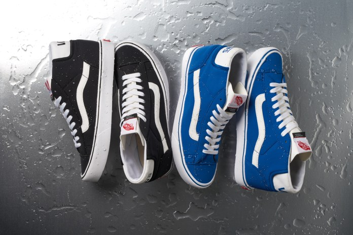 Vans Partners With Schoeller for a Water-Repellant Footwear Collection