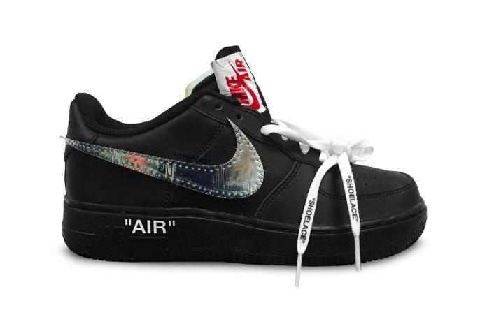 Virgil Abloh Previews OFF-WHITE x Nike Air Force 1 Collab